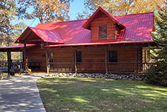 log cabin tellico plains